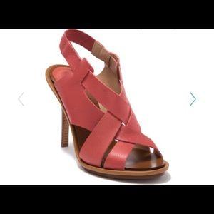 NWOT Halston Heritage Claudia Elastic Leather